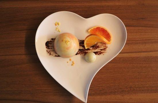 Tortina al cioccolato - all'arancia fatta in casa
