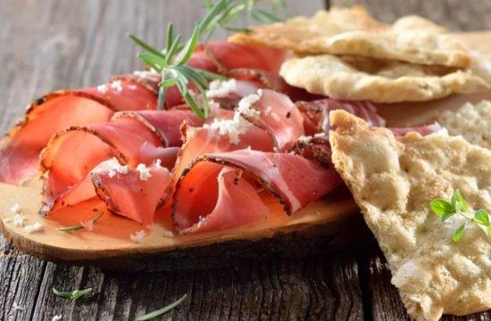 Speck dell´Alto Adige - pane croccante